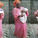PHOTOS: Nigerian woman welcomes baby boy 14 years after her first child & many miscarriages