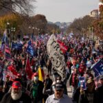 Trump supporters march in Washington to contest vote result