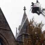 Fire tears through New York Middle Collegiate Church (photos)