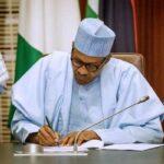 President Buhari To Sign N13.588tr 2021 Budget