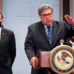 Trump announces Attorney General Barr will leave his job 'just before Christmas'