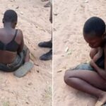 Passer-By In Benue Community Seeks Assistance For 13-Year-Old Girl, Stripped And Evicted By Her Aunt (photos)