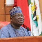 Legislature Alone Can't Produce Good Governance – Lawan