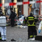 Five confirmed dead after car hits pedestrians in west German city of Trier