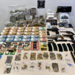 Arms, drugs, cash: Huge haul from police raid in Etterbeek