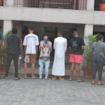 EFCC Arrests 8 Internet Fraudsters Including A Lady In Port Harcourt (Photos)