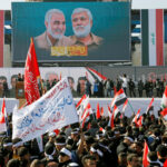 Qassem Soleimani: Thousands march in Baghdad to mark anniversary of Iran general's assassination