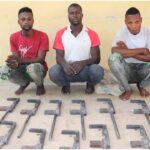 Niger Police nabs four over unlawful possession of firearms, recovers 13 locally made guns