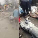 Black Saturday! How 12 People, Including University Students Died After Trailer Rammed Into Them In Ondo (photos)