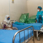 Bisi Fayemi presents gift items to first, second babies of the year