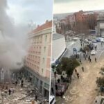Madrid explosion: At least 3 people killed, 11 injured in powerful gas blast (photos & video)