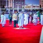 Armed Forces Remembrance Day: Buhari, Lawan, Osinbajo, Others Graces Occasion -[Photos]