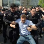 Russia arrests dozens of Navalny supporters at anti-Putin rallies across country