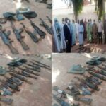 Seven Repentant Bandits Surrender Deadline Weapons in Zamfara (Photos)