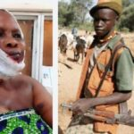 Suspected Fulani herdsmen shoot woman in the head in Ogun (Video)