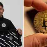 Ex-Real Madrid Striker, Becomes First-Ever Footballer to be Bought With Bitcoin
