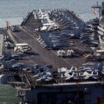 US warships conduct exercises in South China Sea
