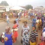"""Fulani must go"": Edo women protest, block major roads (PHOTOS)"