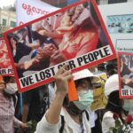 Deadly violence as Myanmar security forces shoot into anti-coup protest