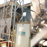 Fire Destroys Bishop Fearon's Duplex In Kaduna (PHOTOS)
