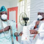Olota of Ota honours Obasa with traditional title (photos)