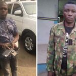 Police Arrest 27-Year-Old Pickpocket, Held Dismissed Soldier For Robbery In Lagos (photos)