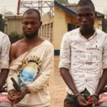 PHOTOS: Police Arrest Two Ex-Convicts For Alleged Armed Robbery In Ogun