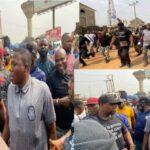 PHOTOS: Sunday Igboho arrives Ogun 'to evict herdsmen'