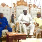 Sunday Igboho Meets Gani Adams [Photos]