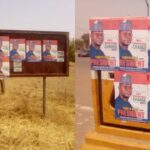 2023: Yahaya Bello's Presidential Campaign Posters Flood Adamawa