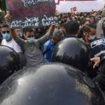 Tunisians protest to mark anniversary of killings of left-wing leaders