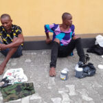 Two Suspected Drug Peddlers Who Were Nabbed In Cross River State