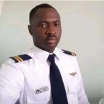 Photo Of The Co-Pilot Of The Military Aircraft That Crashed In Abuja