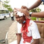 Okorocha's Aide Shot By Uzodinma's Security Personnel (VIDEO)