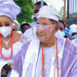 PHOTOS: 82-Year-Old Alaafin Of Oyo Marries Young Eastern Lady, Chioma As His 13th Wife