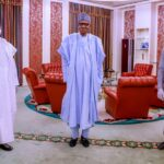 What National Assembly Leaders Discussed With Buhari Before UK Medical Trip