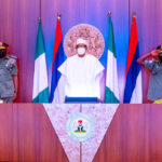 PHOTOS: Buhari Decorates New Service Chiefs