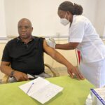 Fayose Receives COVID-19 Vaccine Jab (PHOTOS)