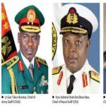 EFCC Speaks On Investigating Former Service Chiefs Over Missing Billions