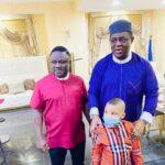 Photos: Fani-Kayode meets Gov. Ayade in Abuja