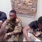 VIDEO: Sunday Igboho Arrests Soldiers, Others Suspected To Be Spies