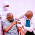 Osinbajo: vaccination wasn't painful, I didn't feel a pinch