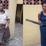 Police Nab 12 Women With Guns In Lagos State