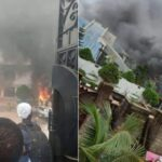 Watch Video Of How Gunmen Attacked, Burnt House Of Gov Hope Uzodinma In Imo
