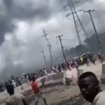 Photos & Video: Lagos Police React To Okada Riders, NURTW Clash