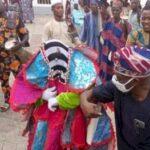 Obasanjo in Covid handshake with 'gods'