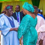 Tinubu 'Embarrasses' Osinbajo's Wife During Aisha Buhari's Book Launch (VIDEO)