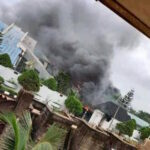 Breaking: Security Guards Shot Dead As Gunmen Burn Down Residence Of Imo Governor