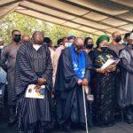 PHOTOS: Oyetola, Fayemi, Makinde, Adebanjo, others bid Odumakin farewell