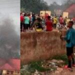 Breaking: Five Dead As Gunmen Set Ablaze Imo Police Area Command